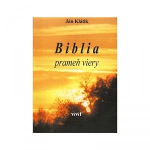 Biblia prameň viery