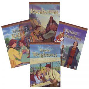 Animované príbehy velikánov dejín 2