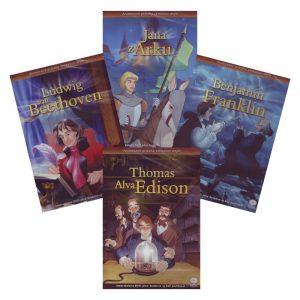 Animované príbehy velikánov dejín 3