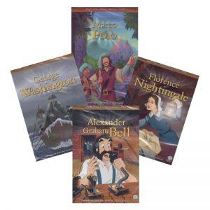 Animované príbehy velikánov dejín 4