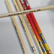 Ceruzky s gumou – vypaľované