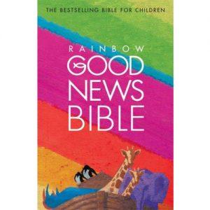 Biblia anglická Good Seed Rainbow