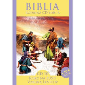 CD Biblia rodinná edícia 10 - Roky na púšti, Vzbura Levítov
