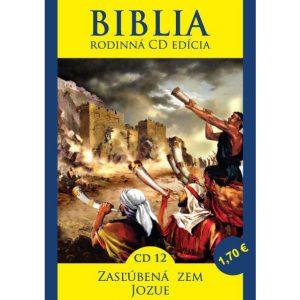 CD Biblia rodinná edícia 12 - Zasľúbená zem, Jozue