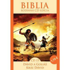 CD Biblia rodinná edícia 15 - Dávid a Goliáš, Kráľ Dávid