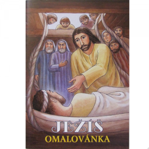 Omaľovánky Ježiš
