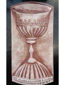 Keramika - kalich - Boh je nám útočišťom a silou