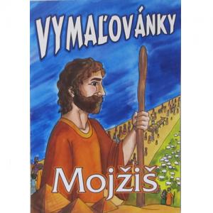 Omaľovánky Mojžiš