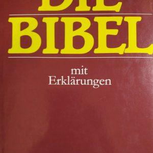 Biblia nemecká Die Bibel mit Erklärungen veľká