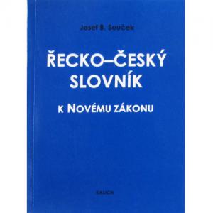 Gréckočeský slovník k Novému zákonu