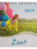 Kalendár pohľadnicový - Život 2019