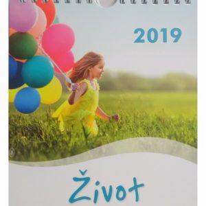 Kalendár Život 2019