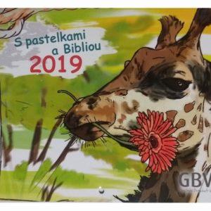 Kalendár - S pastelkami a Bibliou 2019