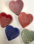 Keramika - srdce veľké