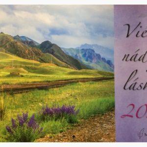 Kalendár – Viera, nádej, láska 2020