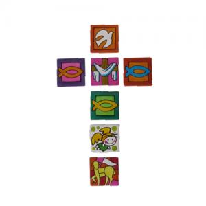 Magnetka keramicka, rybka, anjel, holubica