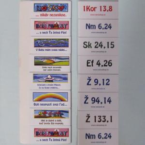 Záložka magnetická - Slovenský text malá