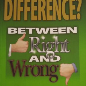whats the difference between right and wrong