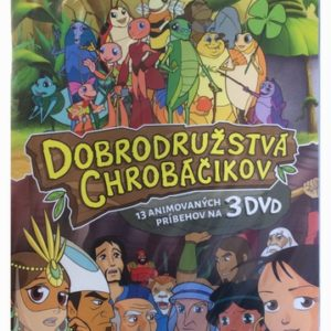 DVD Dobrodružstvá