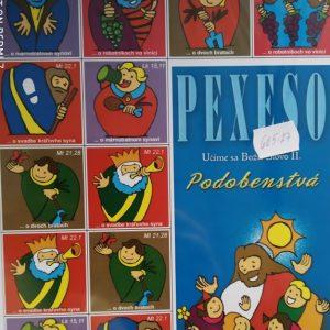 Pexeso - Podobenstvá