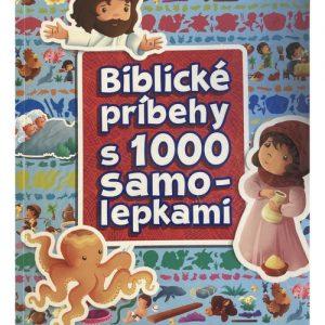 Biblickém príbehy s 1000 samolepkami